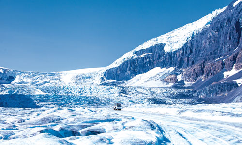 Magnificent Canadian glaciers