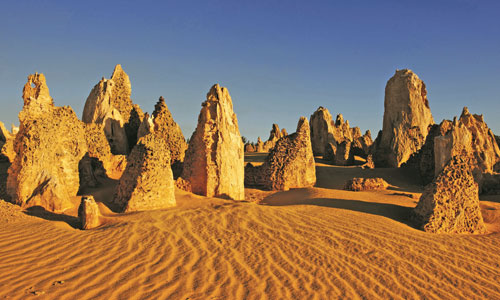 Explore the Pinnacles at Nambung National Park, Western Australia
