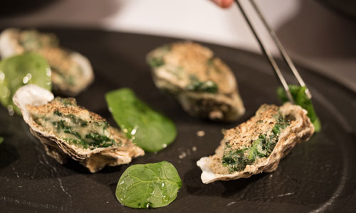 Sample the superb oysters in Canada