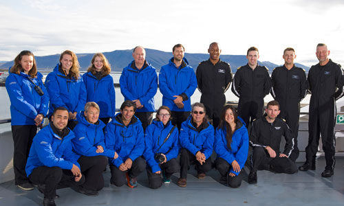 Scenic Eclipse Discovery Team