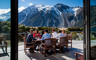 Hermitage Hotel, Mount Cook National Park, New Zealand