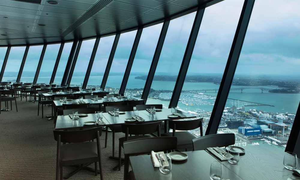 Scenic Freechoice Dining - Orbit Restaurant, New Zealand