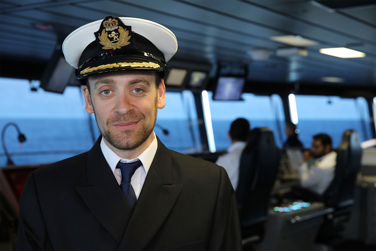 Captain James Griffiths