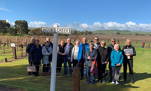 Barossa Valley tour group