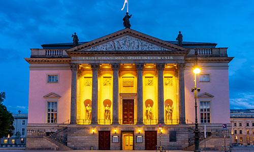 Enjoy a night out at the Berlin State Opera House