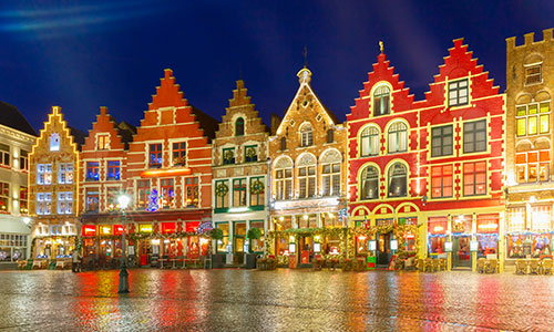 Explore the beautiful Christmas Markets in Bruges, Belgium