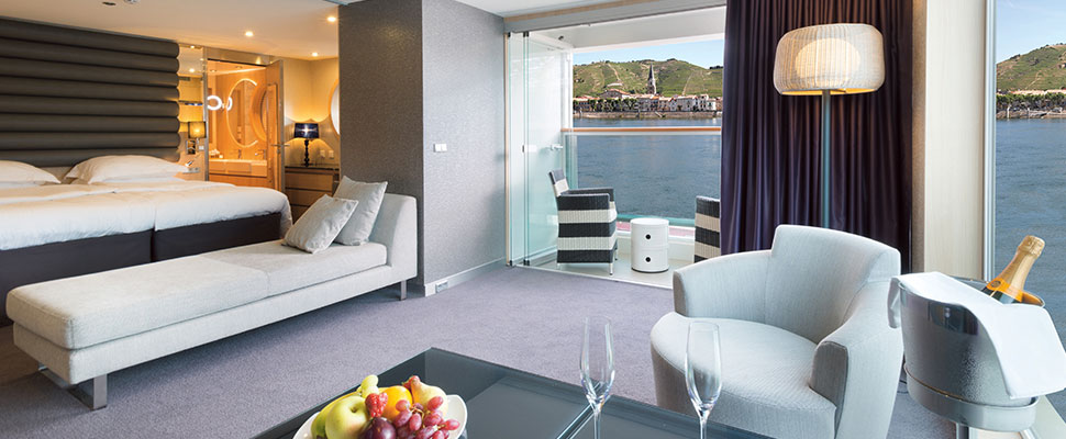 How to choose the best suite on a European river cruise