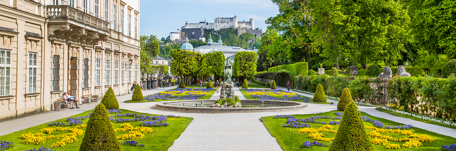 Best Travel Films - The Sound of Music - Mirabell Gardens